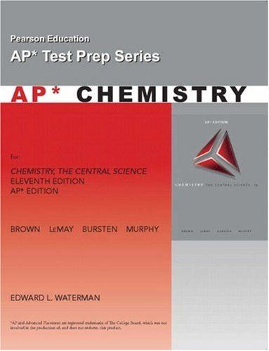 AP Exam Workbook for Chemistry: The Central Science (Pearson Education AP Test Prep)