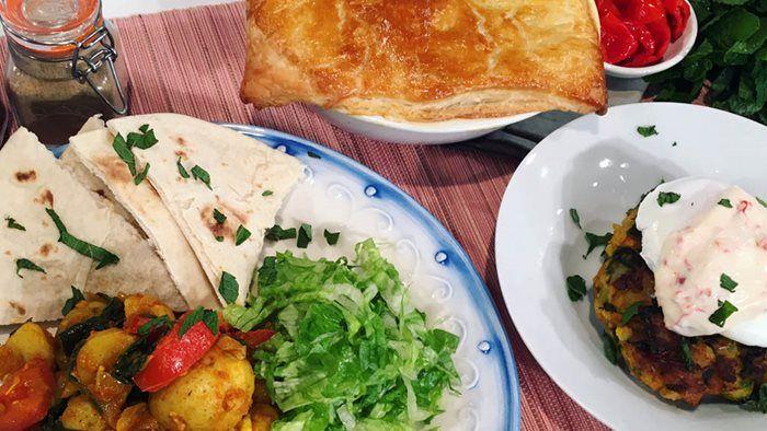 Phil Vickery's veggie recipes.