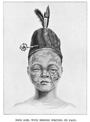 naijablog: 5th century Nsibidi