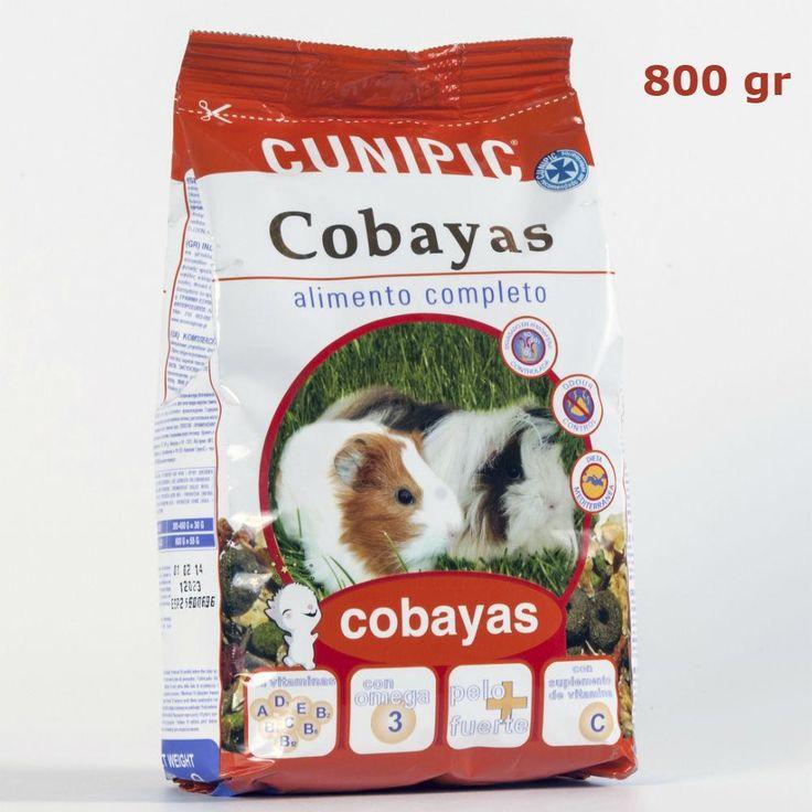 Comida para Cobayas Premium 800 gr CUNIPIC