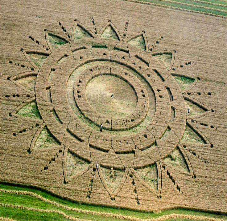 Crop Circle At Aeroporto Torino Aeritalia, Turin, Piedmont, Italy. Reported 23rd June 2015 - Shattering The Matrix