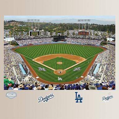 20 best mlb stadiums visited images on pinterest mlb for Dodger stadium wall mural