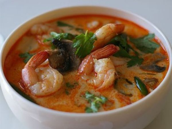 Ricetta Tom yum kung (zuppa thailandese), da Red_alessia_red - Petitchef