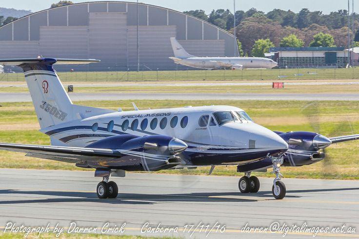 @Beechcraft demonstrator N350ER Taxis at Canberra Airport 17/11/16. #avgeek #aviation #photography #canon #cbr #spotter #canberra