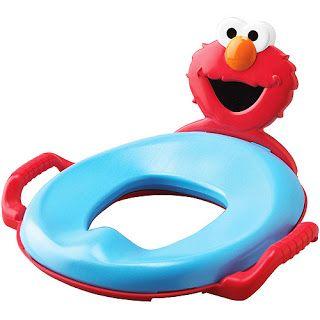 Elmo Potty Seat for toilets  sc 1 st  Pinterest & 12 best Elmo Chairs For Kids images on Pinterest   Elmo chair Table ...