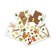 Woodland creature wall decals/ woodland creatue nursery/ Lambs and Ivy Echo Wall Appliques