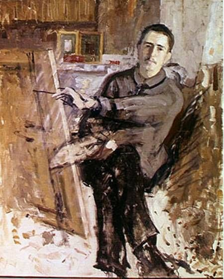 Self-Portrait, 1908  Roger de La Fresnaye