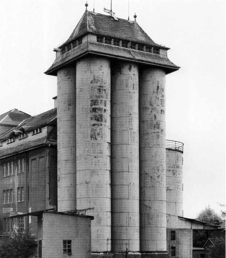 Going for something really unusual? Put a condo on an old silo. Photo by Bernd & Hilla Becher in the 1960-ies