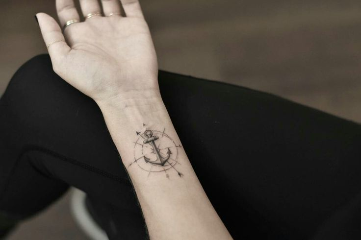 Tattoo done by: @drag_ink #anchor #anchortattoo #ancla