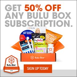 Use Coupon Code -BULUGAN686 to get 50% off any Bulu Box Subscription.  http://imnotsoho.com/