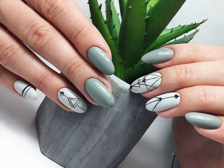 Accrued nails: the shape and design