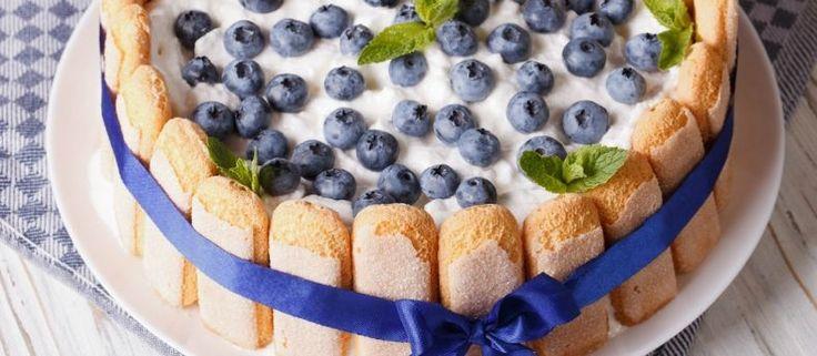Recept: heerlijke No-Bake taart met vers fruit | Budgi
