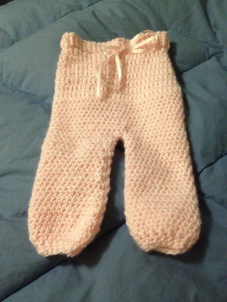 Recently, at one of my craft shows, I had a wonderful lady ask me to make her a couple of hats for her soon to be born baby boy. About a week later, she called me up and asked me if I could make a pair of newborn pants to match one of the hats I had made.