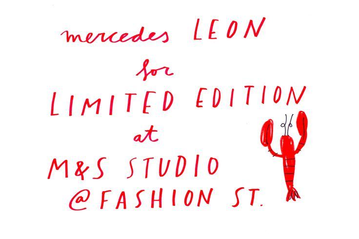 Mercedes Leon for Limited Edition