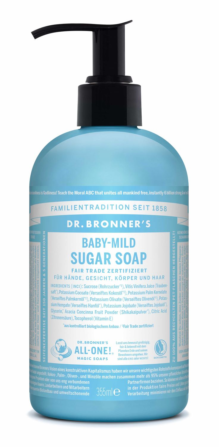Dr. Bronner - Organic Sugar Soap | Baby Unscented