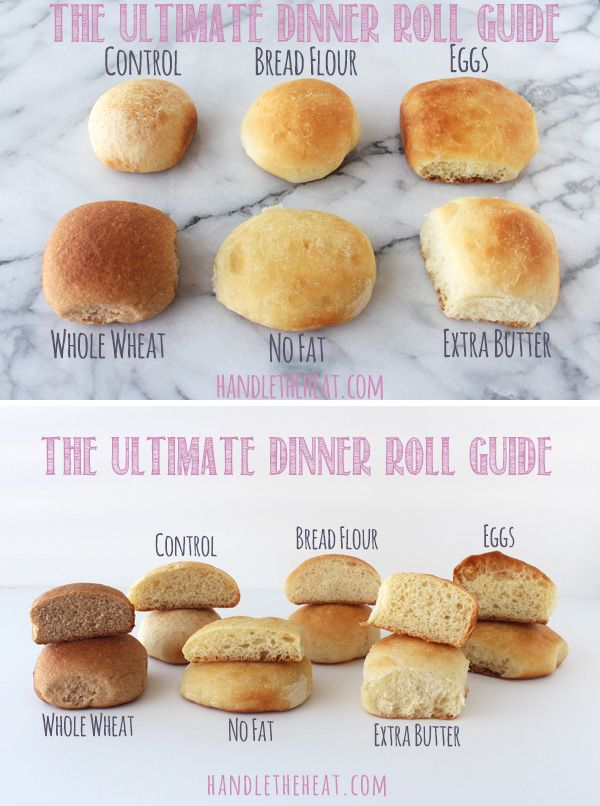 The Ultimate Dinner Roll Guide.