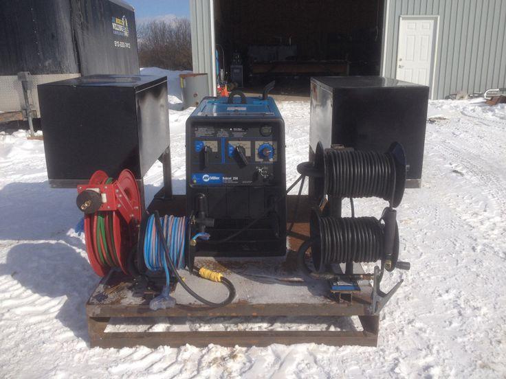 Portable welding skid 2 | J&L MOBILE WELDING