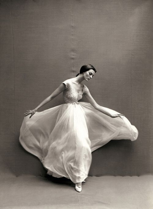 Carmen Dell'Orefice by Richard Avedon, 1957