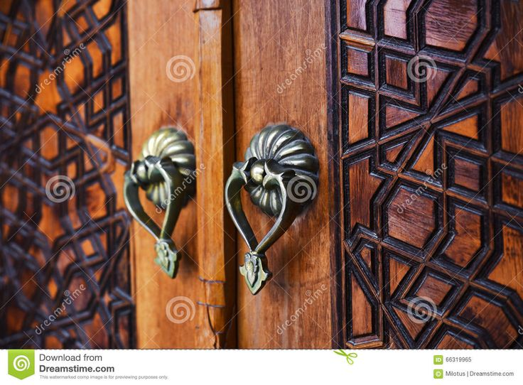 Antique Wooden Door And Door Handles - Download From Over 40 Million High Quality Stock Photos, Images, Vectors. Sign up for FREE today. Image: 66319965