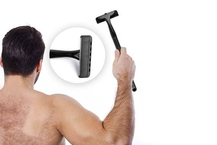 """Men's XL Back Shaver deal in Shaving Get groomed with a 4"""" back shaver.  Access those hard-to-reach areas.  Get rid of unsightly back hairs.  Curved and lightweight handle, with an handy easy-to-replace blade.  The perfect Xmas stocking filler. BUY NOW for just £9.99 Check more at http://nationaldeal.co.uk/mens-xl-back-shaver-deal-in-shaving-2/"""