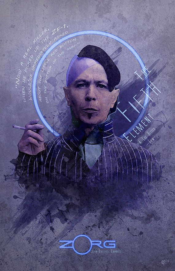 Original Giclee Art Print 'Zorg' by DigitalTheory on Etsy