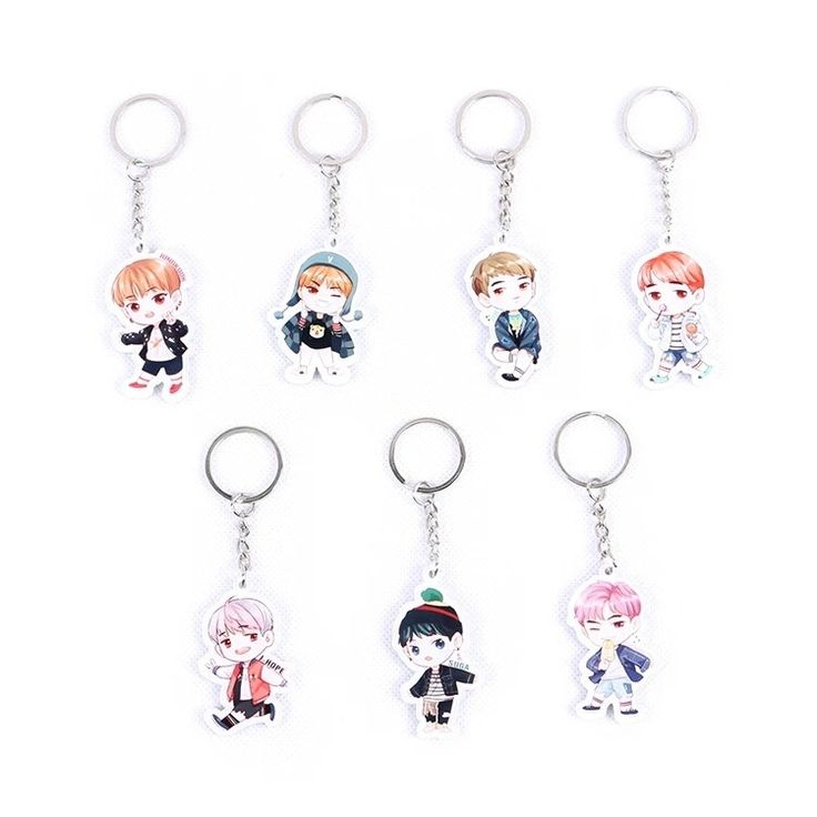 BTS Mini KeyChain (3items) by Kpop Store
