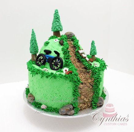 mountain biking birthday cakes - Google Search