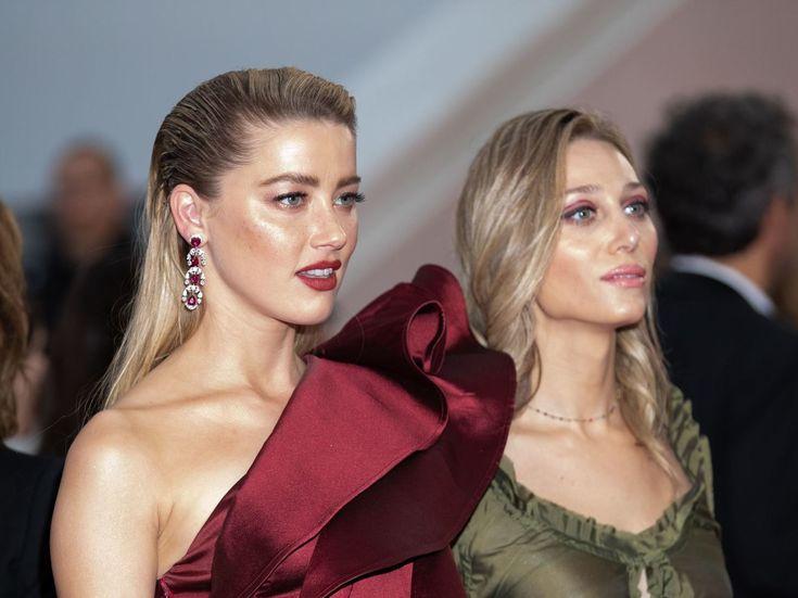 PHOTOS. Cannes 2019 : le geste fort d'Amber Heard sur le tapis rouge pour la journée mondiale de lutte contre l'homophobie