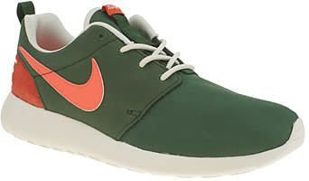 Womens dark emerald nike dark green roshe one retro trainers from Schuh - £72 at ClothingByColour.com