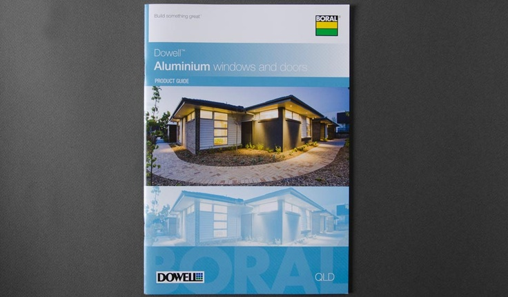 Dowell Windows Brochure design