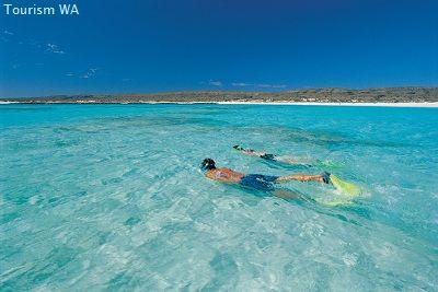 Beautiful Turquoise Bay in Western Australia   Cape Range National Park   Ningaloo Reef Marine Park