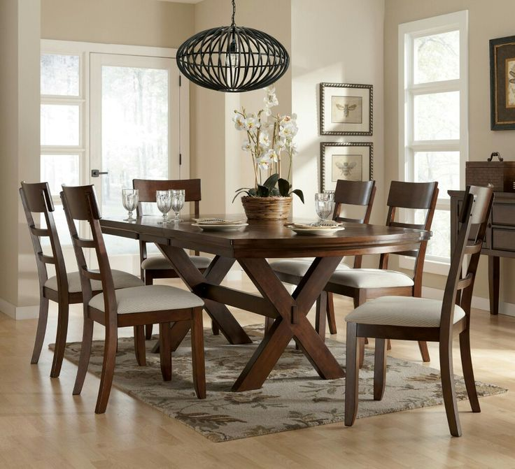 Exotic And Elegant Rustic Dining Room Furniture Looks Of Trestle Table CELUCH Inspiration
