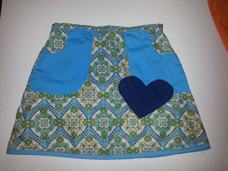 Handmade by La la bree Cute groovy print skirt