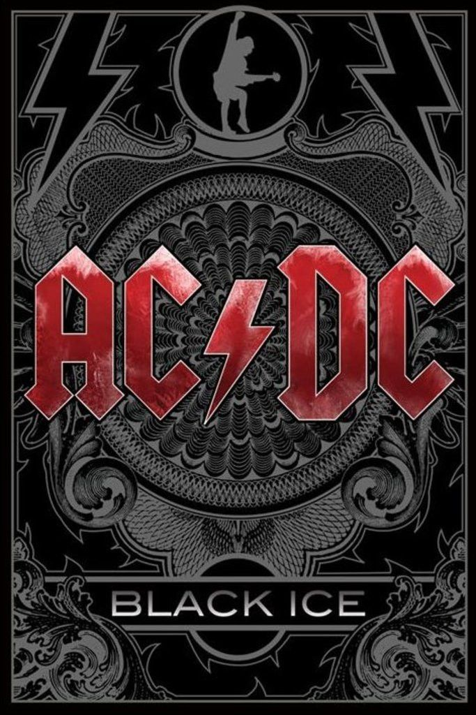 AC/DC - Black Ice - Official Poster