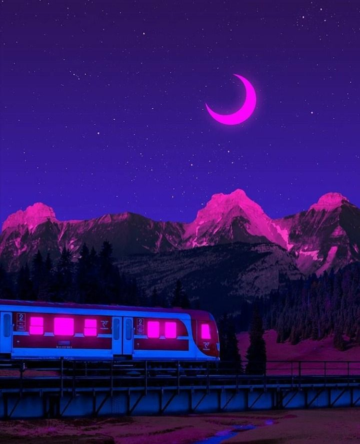 Artsy dark purple aesthetic wallpaper