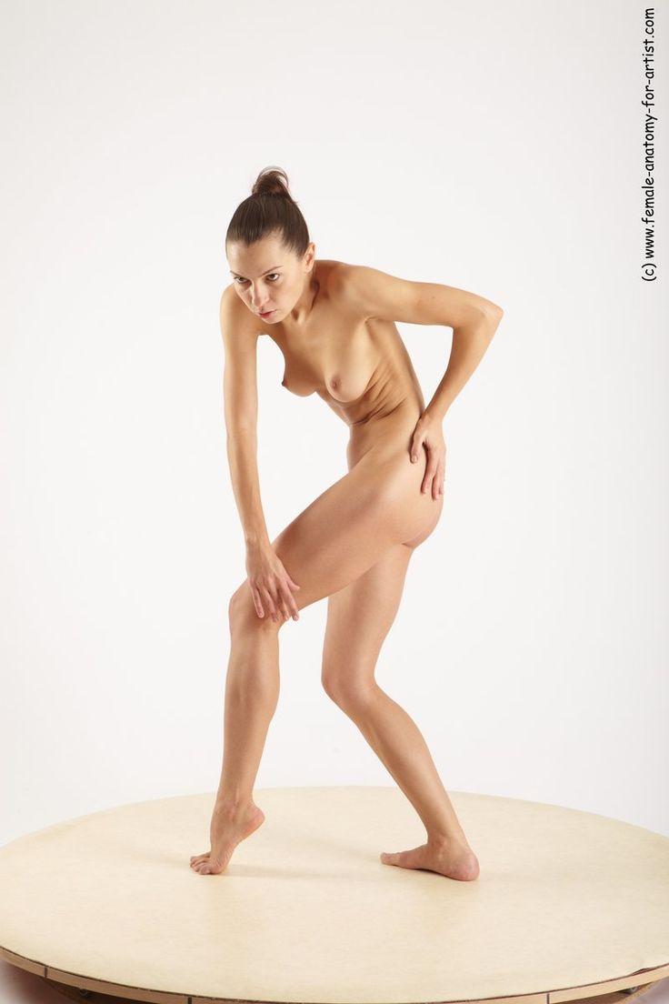 Adult nude female model