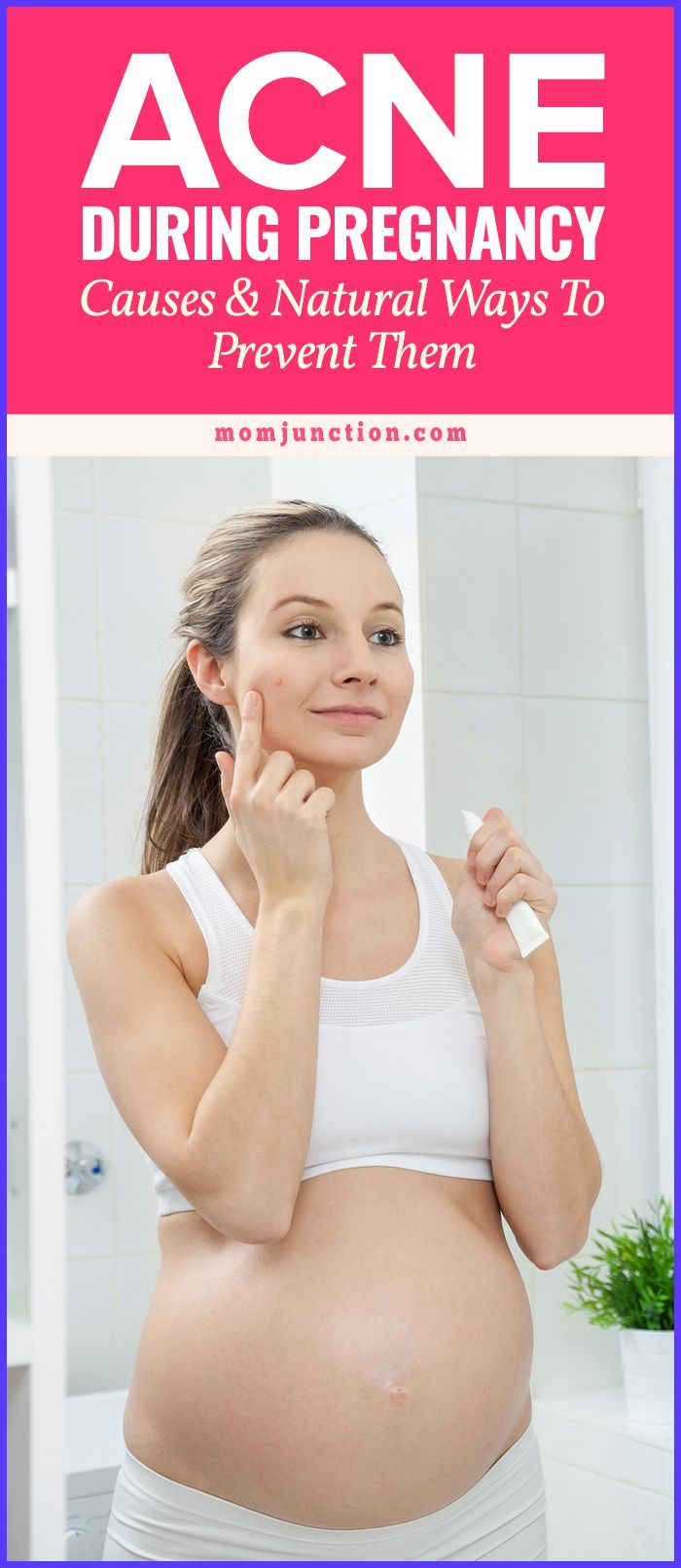 how to help acne during pregnancy