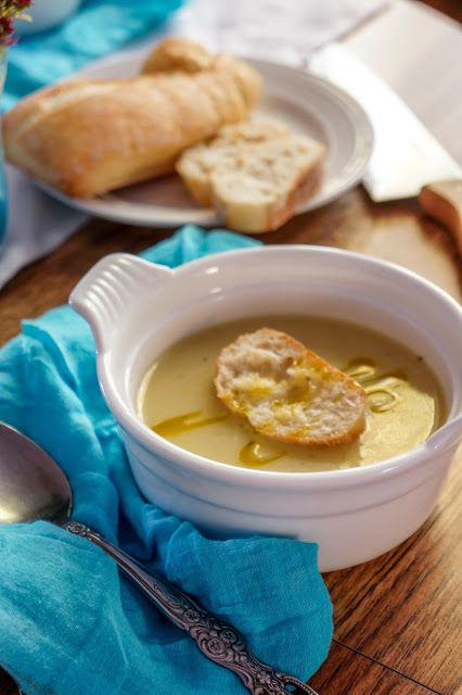 Creamy garlic soup | Ralu TeRa SolaRa