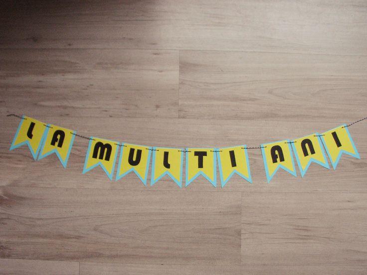 Banner La multi ani! Minions