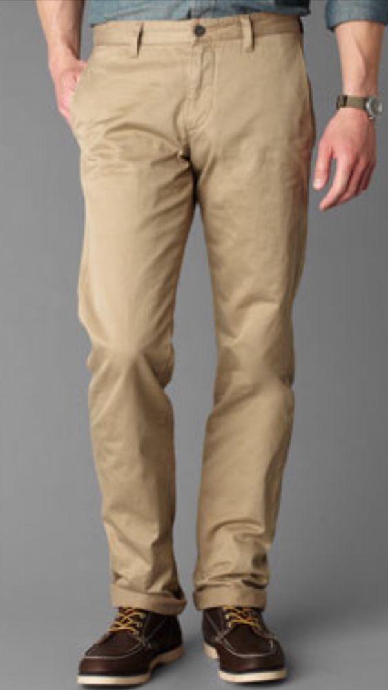 Dockers Weatherproof Utility Chino Men's Khaki Pants Size 38 X 32 NWT $65 #DOCKERS #CasualPants