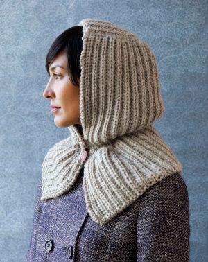 Zaczarowana Wzór Hood Knitting więcej wzory dziewiarskie kaptur