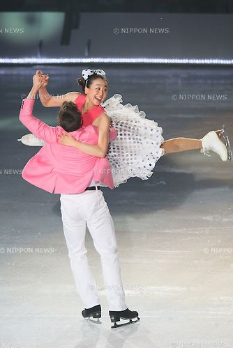(L to R)  Jeffrey Buttle,  Mao Asada (JPN),  JULY 27, 2013 - Figure Skating :  LOTTE presents THE ICE 2013  at Osaka Municipal Central Gymnasium, Osaka, Japan.  (Photo by YUTAKA/AFLO SPORT) [1040]