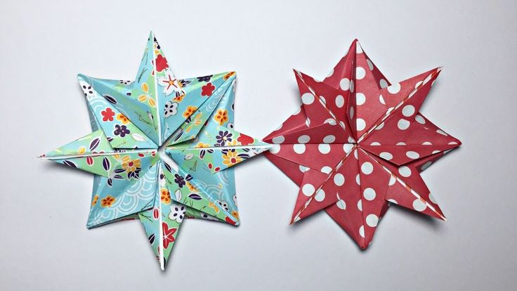 ORIGAMI CHRISTMAS STAR TUTORIAL !!