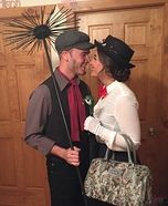 Mary Poppins and Bert Couple Homemade Costume                                                                                                                                                                                 More