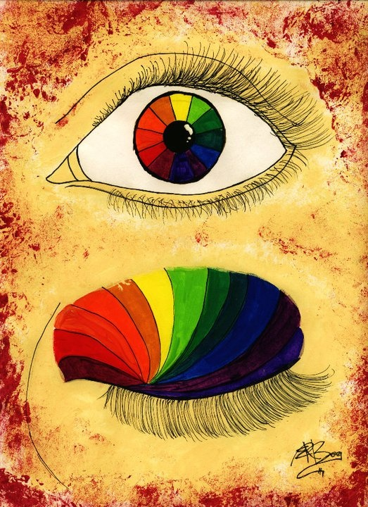 Creative Color Wheel By Mmmitselizabeth