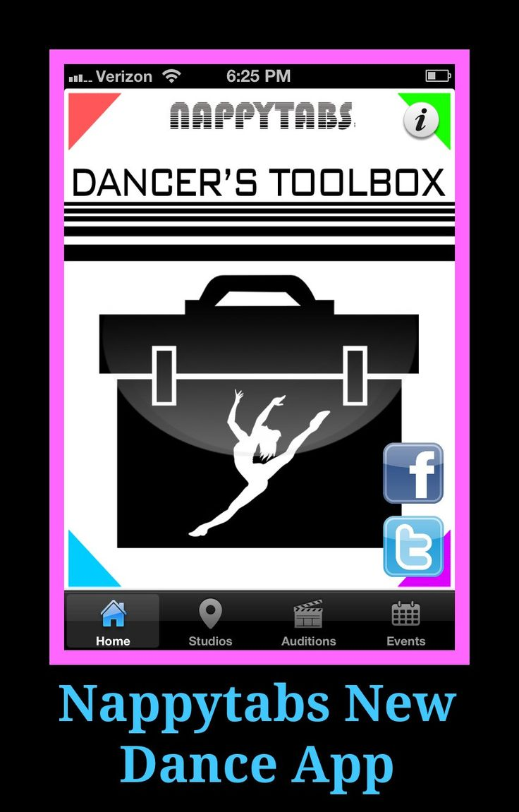 Dancer's Toolbox Dance App - contact/location info for top dance schools in NYC, Los Angeles, and London.