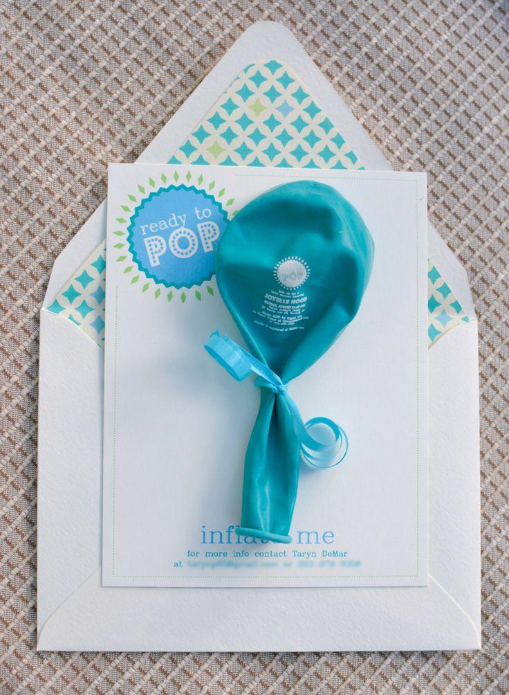 25 ReadyToPop Baby Shower Invitation by LittleBearInk on Etsy