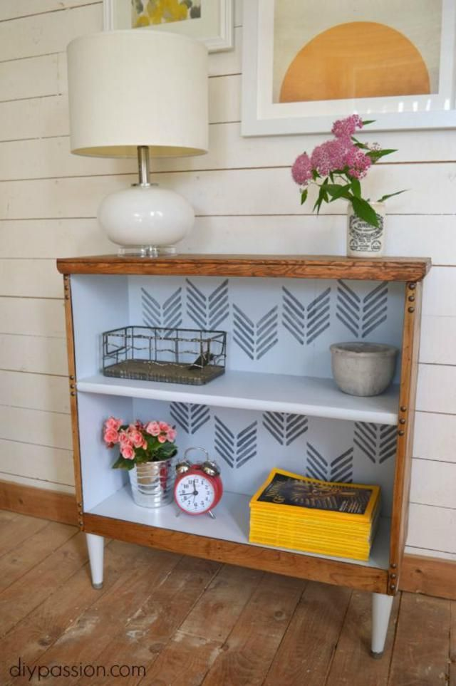Bookshelf Ideas: 25 DIY Bookcase Makeovers You Have to See: Mix Multiple Bookshelf Makeover Ideas