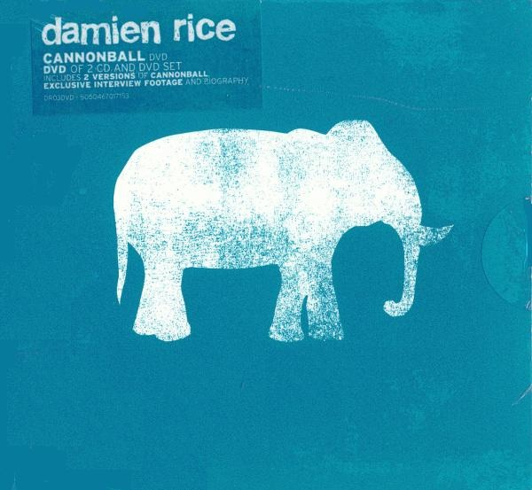 003 Damien Rice - Cannonball (DVD) [14th Floor DR03DVD] #albumcover