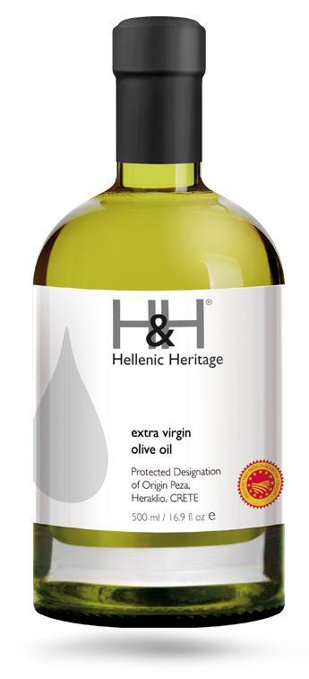 H&H Extra Virgin Olive PDO Peza, Heraklio, Crete